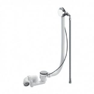 McAlpine Chrome Plated Brass Bath Filler and Overflow (HCN3165UK-1M)